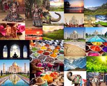 印度旅游景点摄影高清图片