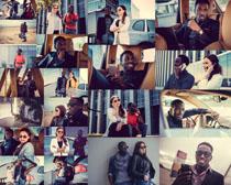 国外商务男女摄影高清图片