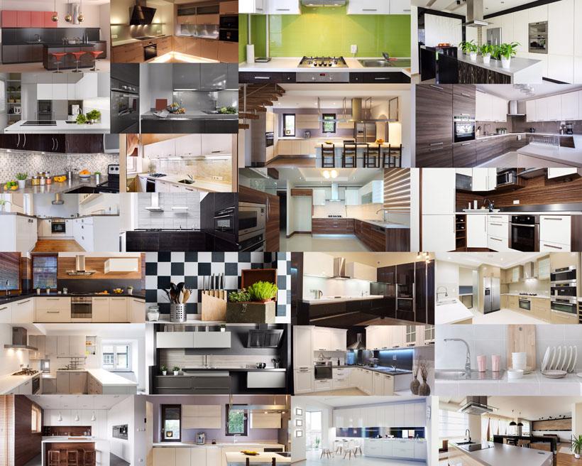 简约厨房风格摄影高清图片