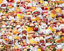 水果面包食物摄影高清图片