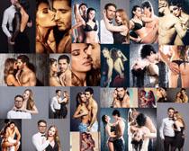 欧美情侣模特写真拍摄高清图片