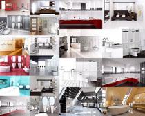 家庭浴室风格摄影高清图片