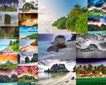 大海海岛风景摄影高清图片