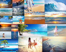 蓝天大海风光摄影高清图片
