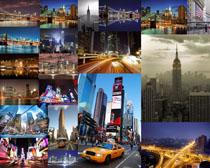 繁华都市风光摄影高清图片