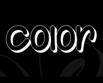 Color Your World Font Ó¢ÎÄ×ÖÌå