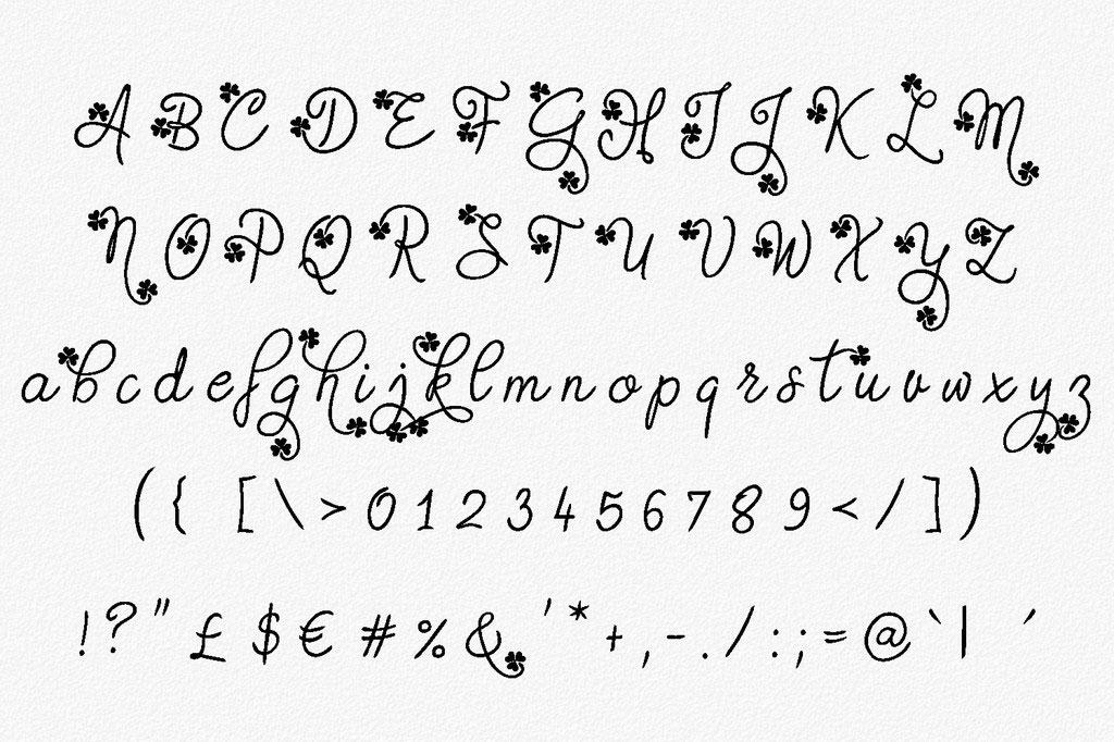 Gudlak Font 英文字体