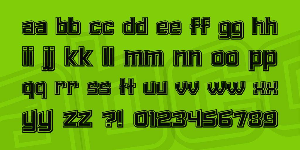 Failed Font Family 英文字体