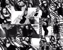 性感黑白照片女人摄影高清图片