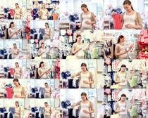 怀孕的欧美女人摄影高清图片
