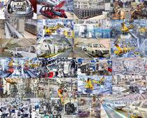 汽车生产厂商摄影高清图片