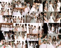 新娘伴娘摄影高清图片