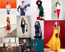 时尚时装美女摄影高清图片