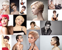 化妆美容发型女子摄影高清图片
