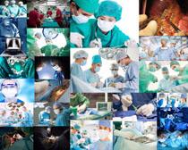 手术台医生摄影高清图片