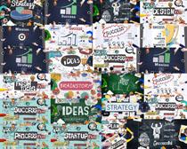 现代商务图画摄影高清图片