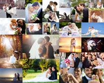 浪漫的婚纱爱情摄影高清图片