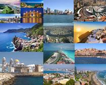 美丽的城市海岛摄影高清图片