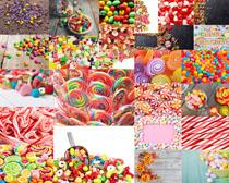 彩色棒棒糖摄影高清图片