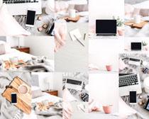 数码办公笔记本摄影高清图片