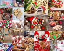 圣诞节饼干摄影高清图片