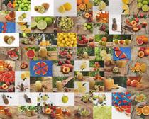 各种水果展示摄影高清图片