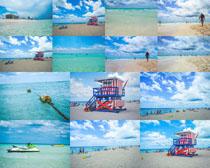 海边沙滩与风景摄影高清图片