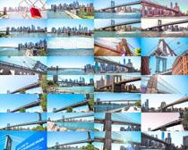 建筑城市大桥摄影高清图片