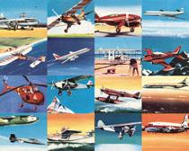 国外老式飞机摄影高清图片