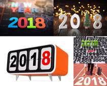 新年2018摄影高清图片