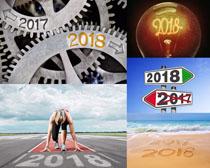 2018新年起跑线摄影高清图片