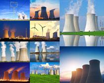 工业排废气摄影高清图片