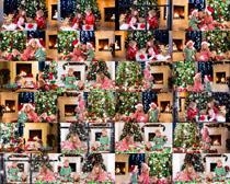 圣诞节开心小朋友摄影高清图片