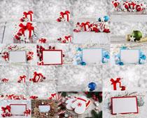 圣诞节装饰物品摄影高清图片