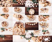 可爱的食物饼干摄影高清图片