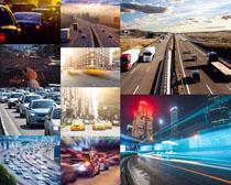 公路上的汽车摄影高清图片