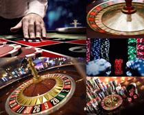 赌场转盘摄影高清图片