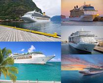 旅游大型轮船摄影高清图片