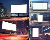 商务高炮广告牌摄影高清图片