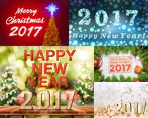 2017圣诞节快乐摄影高清图片