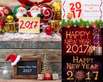 圣诞节2017布置摄影高清图片