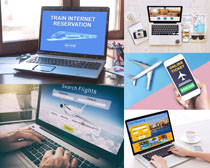 商务数码笔记本摄影高清图片