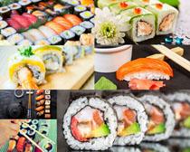 日本美食寿司展示摄影高清图片