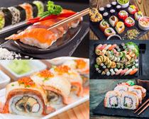 海鲜寿司美食摄影高清图片