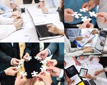 商务团队职业人士摄影高清图片