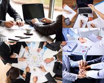 商务人士团队精神摄影高清图片