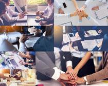 商务团队人士会议摄影高清图片