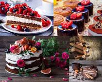 巧克力蛋糕食物摄影高清图片