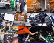 汽车维护维修摄影高清图片