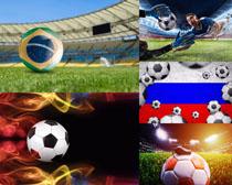 足球世界杯场地摄影高清图片